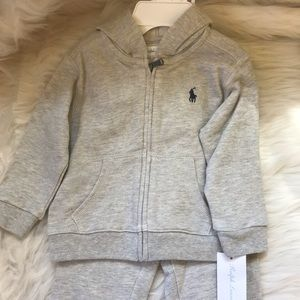 Ralph Lauren Gray jogging suit